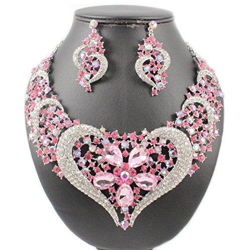 Hearts Pink Bib - 7