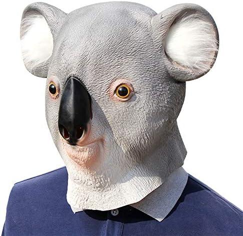 Koala Adulto Cosplay Careta Disfraz MáScara De Fiesta De Halloween ...