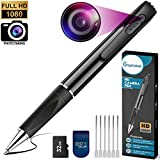 Mini Spy Camera 1080P HD Recording (with 32 GB Memory Card) - Spy Pen Camera, Hidden Camera Pen - Mini Spy Hidden Camera, Spy Cam with Small Camera - Mini Hidden Camera, Micro Camera for Spy Gear