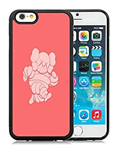 iPhone 6 4.7 inch Kaws iPhone x Michelin Man HD-640x1136 wallpapers Black TPU Phone Case Genuine and Handmade Design