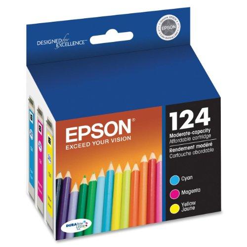 Epson America T124520-S Color Multpack DURABrite Ink