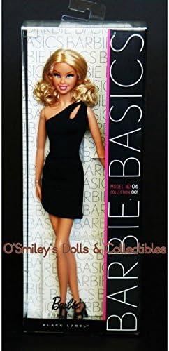 Barbie Basics Black Label Collector Doll Model 06 Collection 001