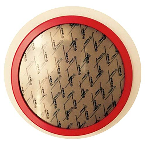 Photo Frame Picture Frame Round Frames for Pictures DIY Hanging Wall,Red,12 inch]()