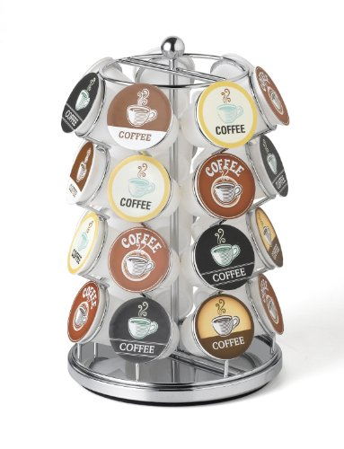 (28 Capacity K-Cup Carousel (Chrome) - Nifty)