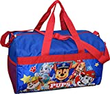 Nickelodeon Paw Patrol Boy's 18'' Carry-On Duffel Bag (Blue Red)