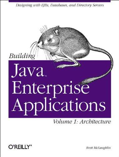 Building Java Enterprise Applications, Vol. 1: Architecture (O'Reilly Java)
