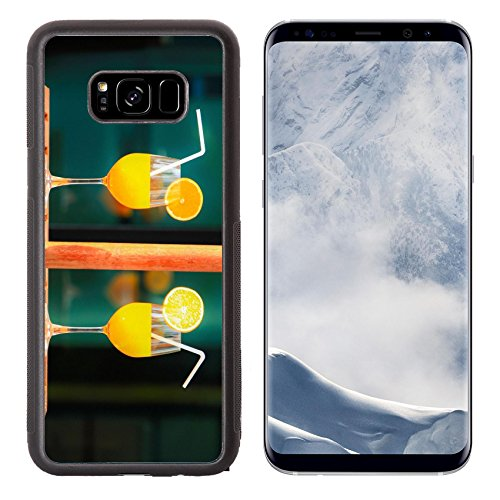 Luxlady Samsung Galaxy S8 Plus S8 Aluminum Backplate Bumper Snap Case IMAGE ID 32691334 Orange juice in summer day for healthty