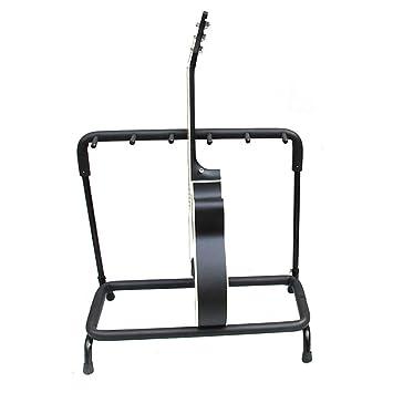 Soporte Para Guitarra 3,5,7,9 Long Head Folk Guitarra Eléctrica Bajo Soporte Para Múltiples Cabezales Soporte Soporte Soporte Para Exhibición Negro: ...
