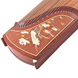 Authentic Dunhuang Guzheng - 694L - Rosewood Guzheng with Oyster Inaly - \