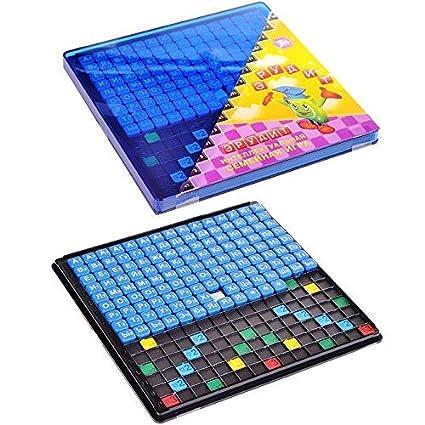 Amazon.com: Ruso Juego de mesa Erudite – Scrabble Crossword ...