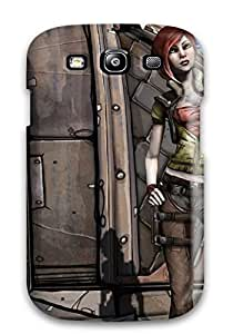 High Impact Dirt/shock Proof Case Cover For Galaxy S3 (borderlands)