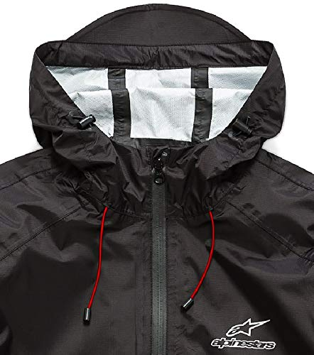 Alpinestars Mens Tech Rain Shell Taped Seams Lightweight Waterproof Jacket