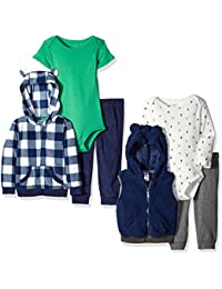 Carter's Boys' 6-Piece Jacket and Vest Set