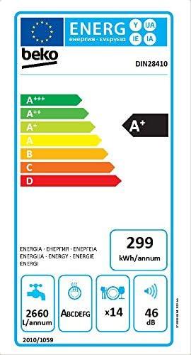 Beko DIN 28410 – Lavavajillas integrable / A+ / 81,8 cm / TrayWash ...