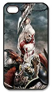 LZHCASE Personalized Protective Case for iPhone 4/4S - God of War