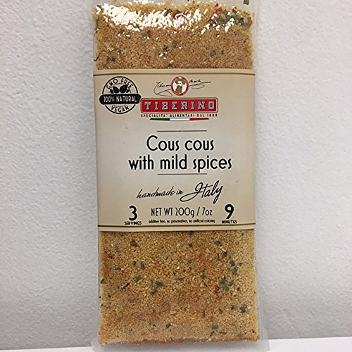 Tiberino's Real Italian Meals - Cous cous w/ Mild Spices by Tiberino