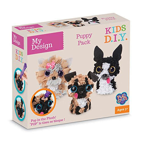 Orb Factory My Design Puppy Pack 3 Personnages 3D Jouet, 77808