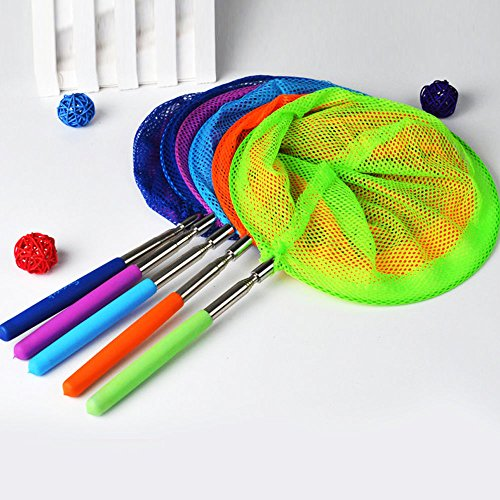 Butterfly Costumes At Walmart (MAZIMARK-Kids Extendable Fishing Net Telescopic Handle Fish Bug Butterfly Insect Fun Toy)