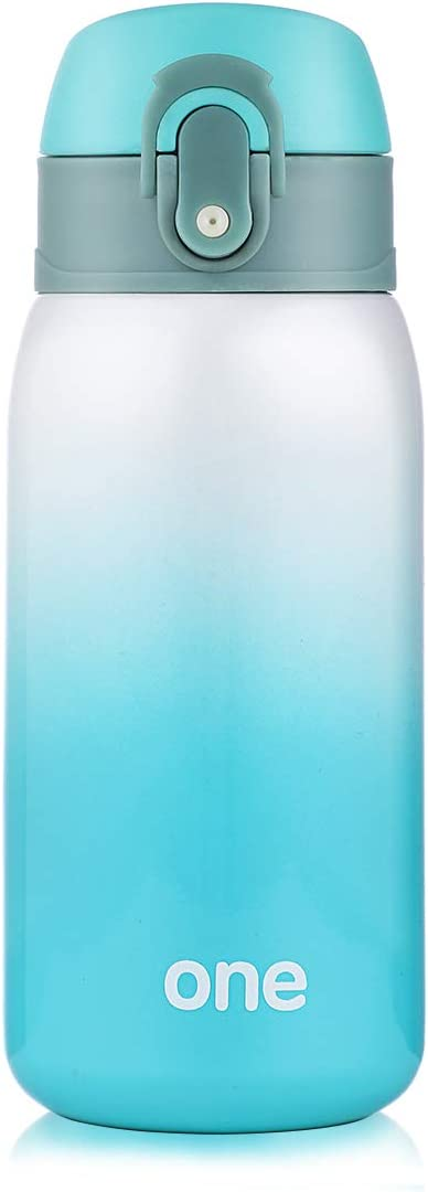 Sprouts Stainless Steel Vacuum Insulated Kids Water Bottle   24 Hours Cold, 12 Hours Hot   Reusable Metal Water Bottle   Leak-Proof Sports Flask   11 oz