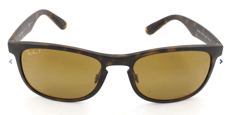 Ray-Ban Mens RB4263 Chromance Mirrored Square Sunglasses