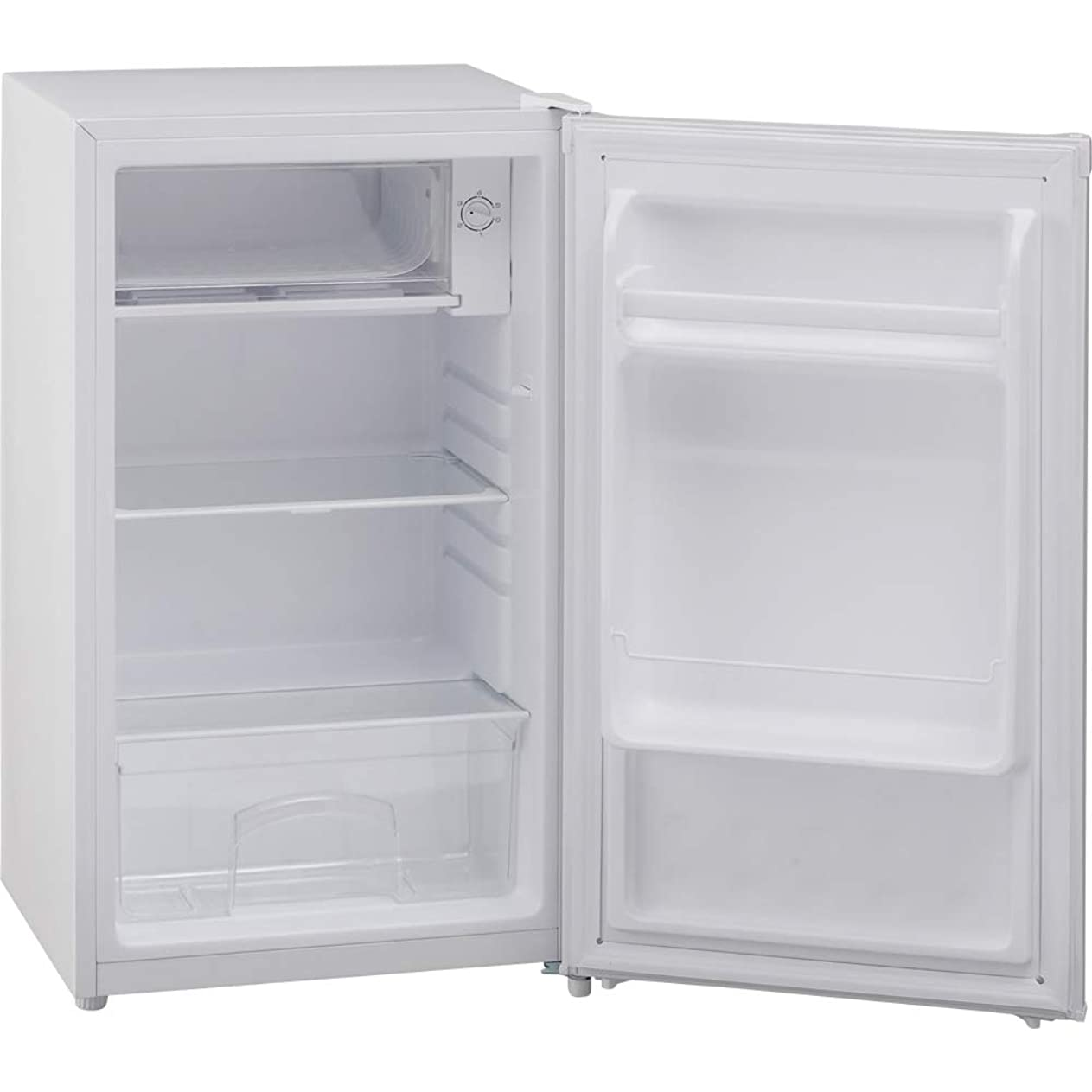水星泥沼前に【左右開き対応】TOHOTAIYO 2ドア冷蔵庫 90L TH-90L2 (ダークウッド)