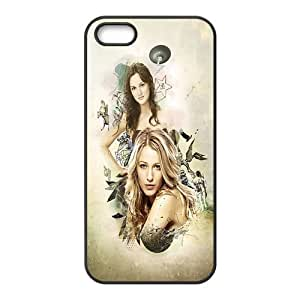 Custom Personalized Gossip Girl Back Cover Case TPU for iphone 5,5S JN-1001