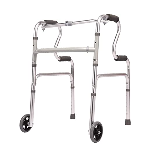Andador médico, Anciano Caminante con un Solo botón Plegable ...
