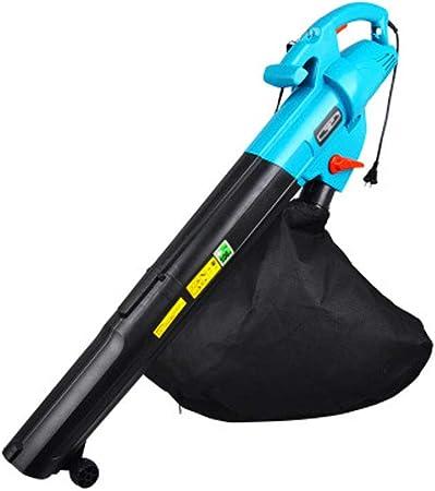 fpq Hoja Soplador, Secador De Pelo Aspiradora Limpiador Jardin Barriendo El Piso Maquina Portátil Conveniente Adecuado para Inicio Patio Eliminación De Polvo Azul: Amazon.es: Hogar