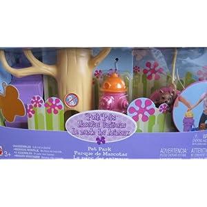 Barbie POSH PETS PET PARK Playset w 3 DOGS, DOG PARK w Slide, HYDRANT & More! (2003)