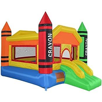 Amazon.com: Costzon - Casa hinchable de rebote, castillo ...