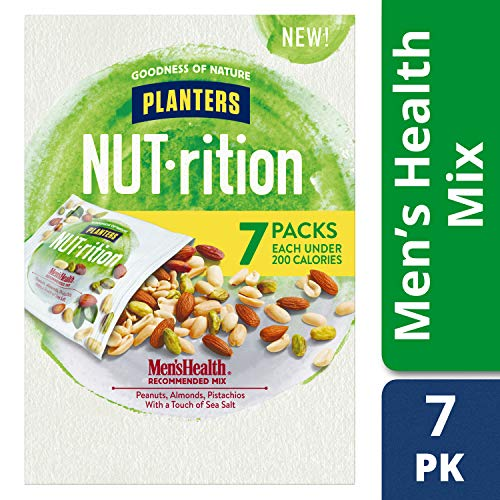 Health Nut - Planters Nut-rition Men's Health 6-1.25 Oz Net Wt 7.5 Oz (Pack of 4 Boxes)