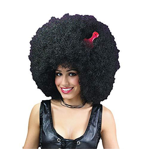 Fun Express - Afro Super Jumbo for Halloween - Apparel Accessories - Costume Accessories - Wigs & Beards - Halloween - 1 Piece