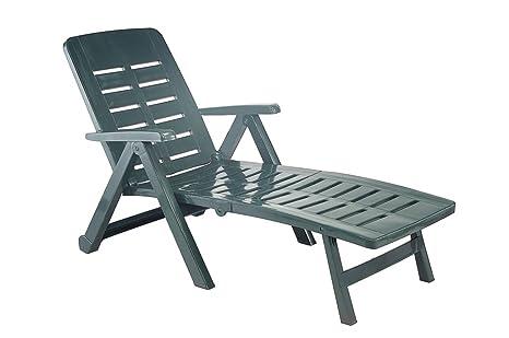 Sdraio In Plastica Verde.Sedia A Sdraio In Plastica Per Piscine Giardini Case