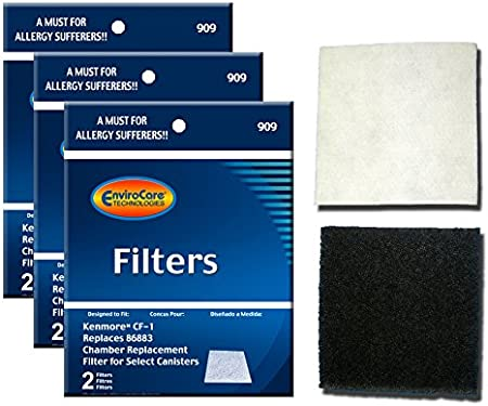 1 Vacuum Motor Safety Filter fits Sears Kenmore CF-1 86883 20-86883 8175084