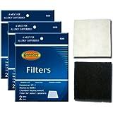 Envirocare Foam Filters to fit Kenmore Sears Progressive CF1, Progressive & Whispertone, Panasonic Vacuum Cleaners…