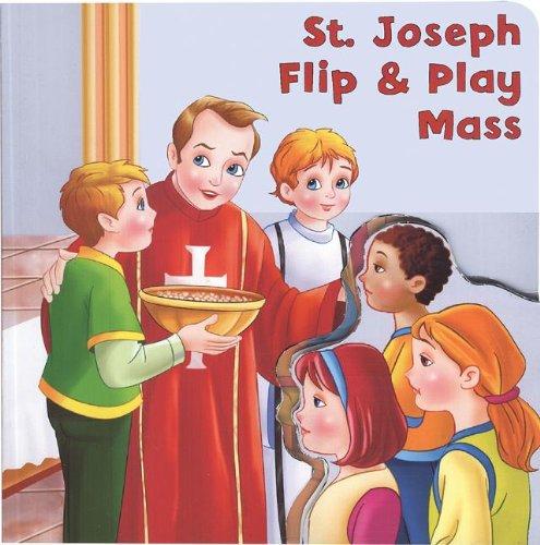 St. Joseph Flip & Play Mass Book (St. Joseph Kids' Books)