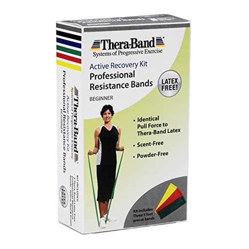 Thera-Band 5-Feet Light Multi Pack Exercise Band