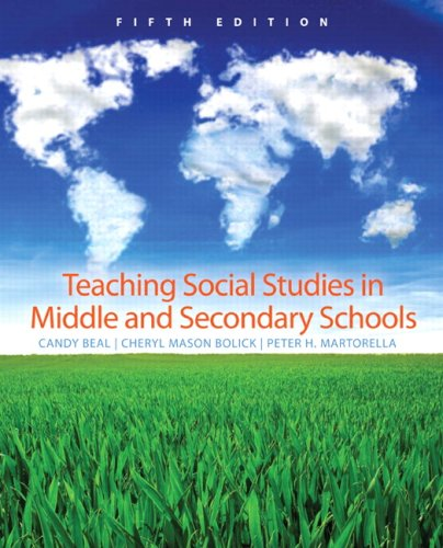 Teaching Social Studies in Middle and Secondary Schools (5th Edition)