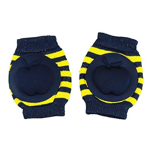 baby protective kneelet, Misaky mesh elbow guard kneepad wrist guard kneeboss (Dark Blue) - Fleece Mesh Parka