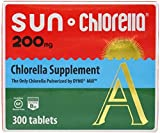 Sun Chlorella – Chlorella Superfood Nutritional Supplement – 200 Mg 300 Tablets