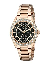 Citizen Women's FD3003-58E Drive from Eco-Drive POV Analog Display Japanese Quartz Rose Gold Watch