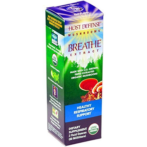 Extract Defense (Host Defense - Breathe Extract, Healthy Respiratory Support, 60 Servings (2 oz) by Host Defense)