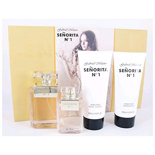 Senorita No 1 by Gabriel Milano, 4 piece Gift Set for Women (1 Gabriel)