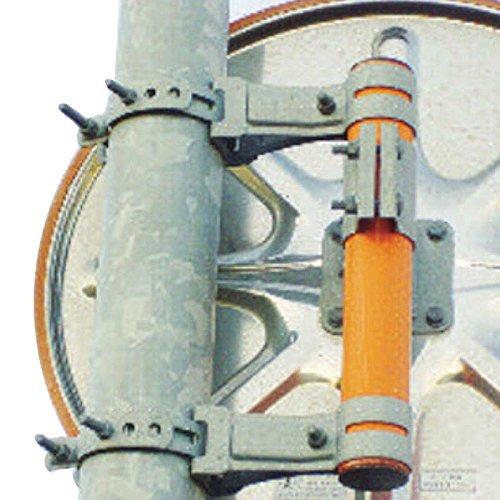 二面鏡用 取付金具 101.6 x 76.3 W金具 道路 反射鏡 シンコーミラー アミD B075TSM8DW