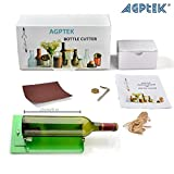[Updated] Wine Bottle Cutter Kit, AGPtek Long Glass Wine Bottle Cutter Scoring Machine Kit Cutting Tool for DIY Reuse Recycle Beer Wine Bottl