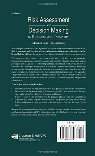 Risk Assessment And Decision Making In Business And Industry: A Practical Guide - Second Edition