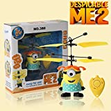 Flying Despicable Me Minion mini r/c helicopter remote control toy For Kids (Girl) by TrustUD
