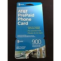 AT&T 900 Minute Prepaid Phone Card (Calling Card)