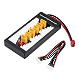 Lipo Battery Parallel Charger RCmall XT60 2-6S Balanced Charging Board for iMax B6 B6AC