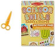 Melissa & Doug Scissor Skills Activity Book With Pair of Child-Safe Scissors (20 Pa